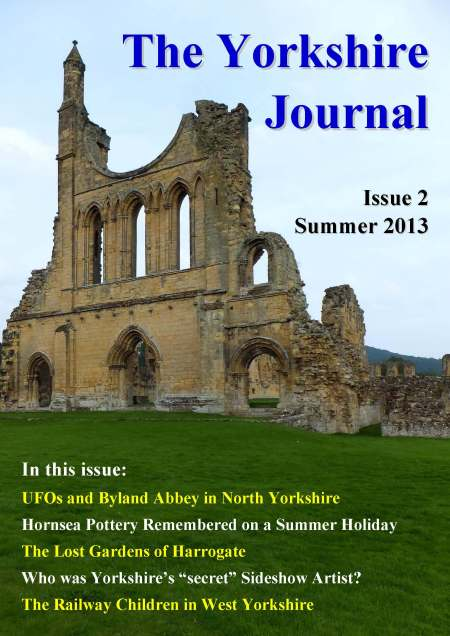 Front Cover Byland Abbey Summer 2013